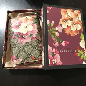 Gucci wallet floral small